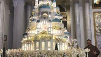 Шикарный Торт за 179 000 $ на казахской свадьбе