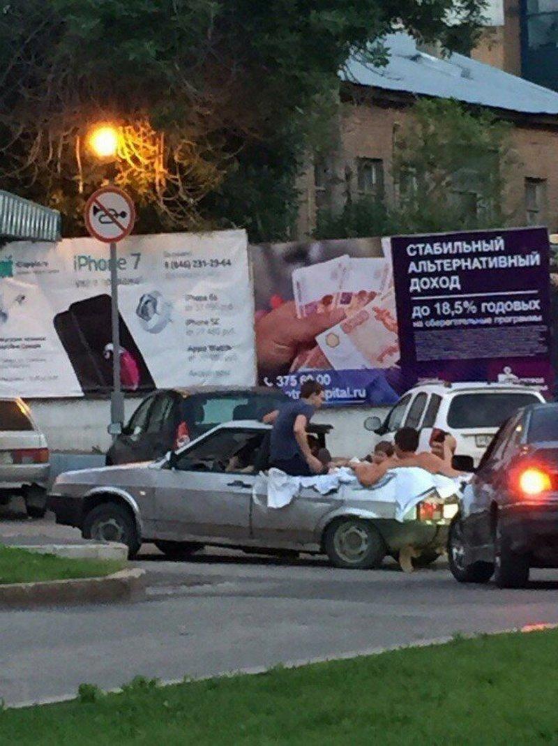 Когда очень хочешь кабриолет, но в гараже стоит -шестерка-(11 фото)