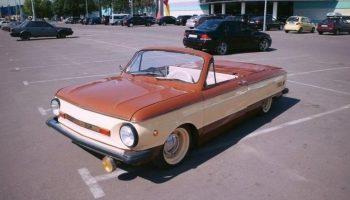 Когда очень хочешь кабриолет, но в гараже стоит «шестерка»