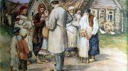 Богатый папаша привез сына в деревню к беднякам, чтобы проучить его