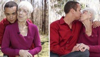 Этому парню 31, а его девушке — 91. Любви все возрасты покорны, не так ли?