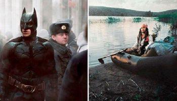 11 смешных фото, как бы выглядели голливудские фильмы, если бы их снимали в российской глубинке