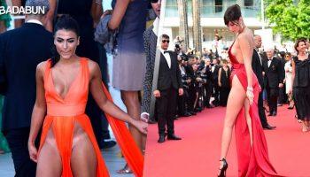 Откровенные платья, которые носятся без нижнего белья, стали трендом во всем мире