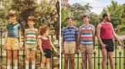 Эти люди решили воспроизвести детские фото. Получилось чудесно!