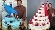 Такие торты есть нельзя! Настоящие шедевры кондитерского искусства!