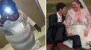 Самые неудачные и смешные свадебные наряды
