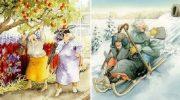 Озорные подружки: серия открыток с неунывающими старушками