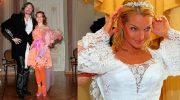 Самые смешные и эпатажные свадебные платья наших звезд