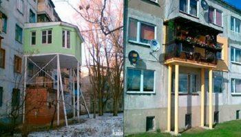 Самые креативные балконы. Такое можно увидеть только у нас!