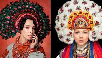 Потрясающие снимки украинских знаменитостей в национальных костюмах