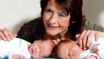 Самая старая мама в мире, родила два года назад близнецов и оставила их сиротами