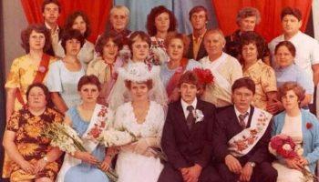 Роскошные свадебные наряды из СССР 80-х годов