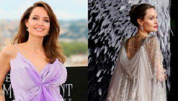 Триумфальные выходы потрясающей Анджелины Джоли. Шикарная женщина!