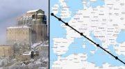7 мировых святынь оказались выстроенными в одну линию. Вот что послужило причиной…