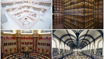 25 величественных библиотек мира. Их стоит посетить даже не имея никакого интереса к чтению