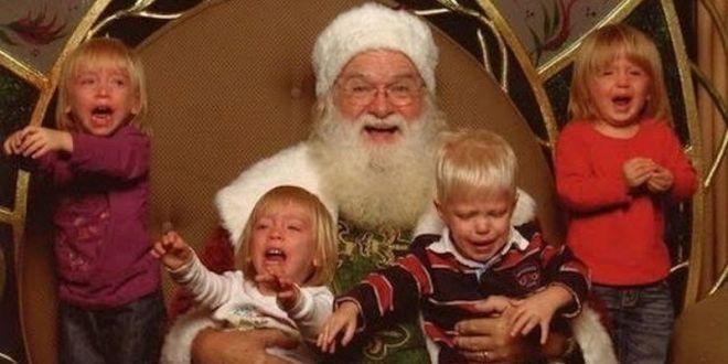 29. Ну скажите, разве не весело делать фотографии с Санта Клаусом