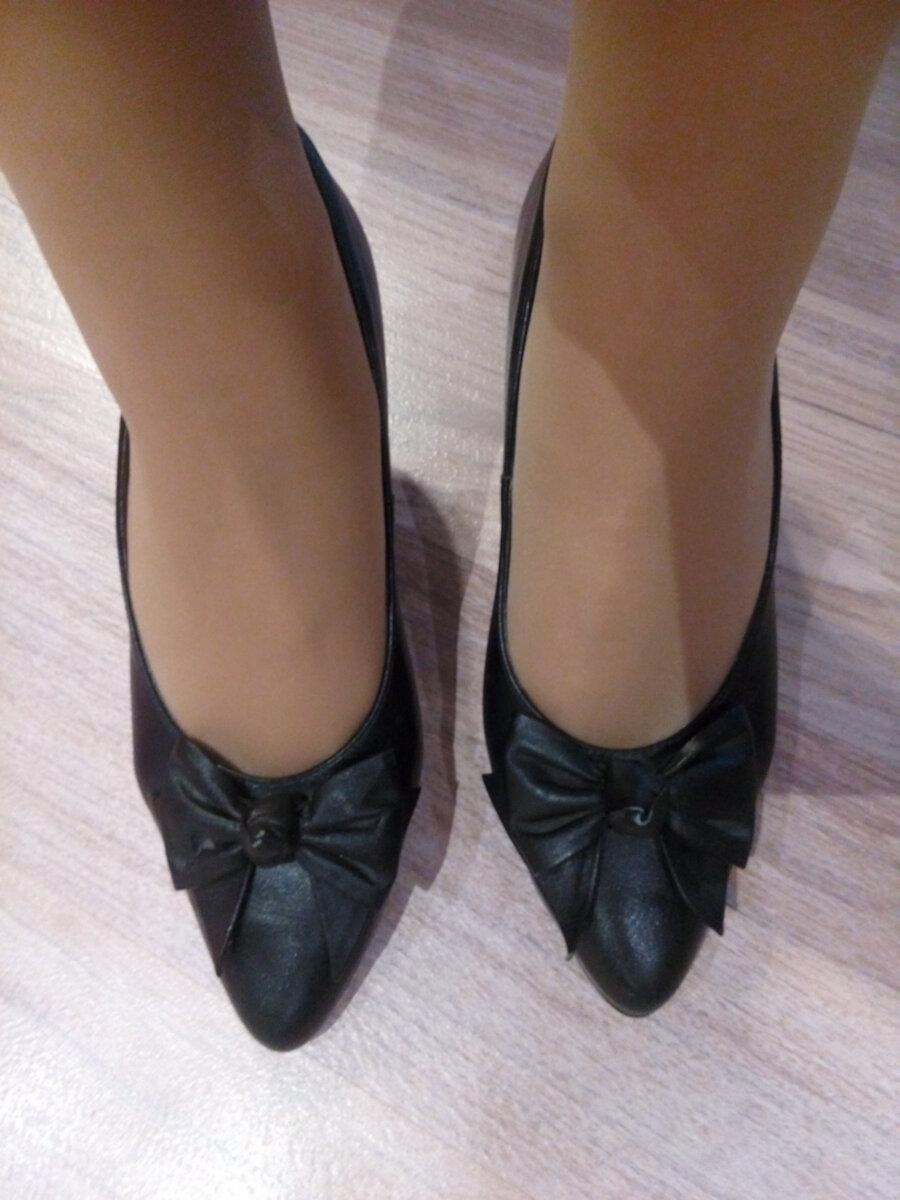 Свекровь подарила мне свои югославские туфли из 80-х для корпоратива. Фото.