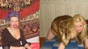 Гламурные провинциальные красотки на диване+Королевы подъездов))