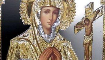 Чудодейственная икона Божией матери, искореняющая бедность и избавляющая от болезней
