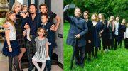 Папочки-знаменитости, которые воспитывают и своих и чужих детей