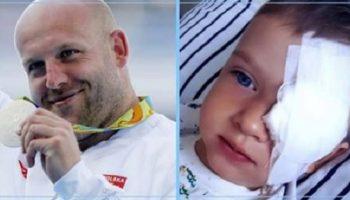 Польский чемпион мира и олимпийский призерпродал медаль, чтобы дать шанс спастись ребенку