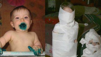 Дети умеют веселиться! Смешные снимки от родителей