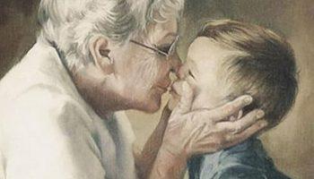 Бабушки и дедушки не уходят навсегда, они по-прежнему находятся там, где вы проводили время с семьей…