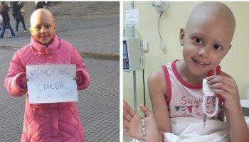 Ей всего лишь 8, но она уже прошла 52 химиотерапии — и победила рак