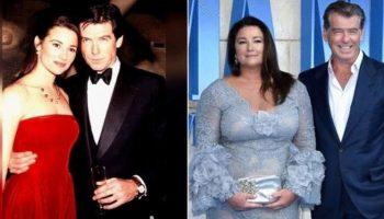 Верный Джеймс Бонд: Пирс Броснан отметили с женой 25 лет совместной жизни
