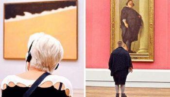 Талантливый фотограф в течение нескольких лет тайно снимал «правильных» посетителей музея — и вот зачем