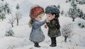 Настоящее счастье — это, когда души близких могут говорить, не произнося ни слова!