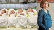 Аннегрет Раунинг стала мамой четверняшек в 65 лет. Как сложилась жизнь семьи спустя годы