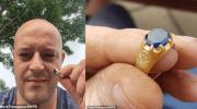 Мужчина нашел в лесу средневековое кольцо за которое ему заплатили на аукционе 30 000 фунтов стерлингов