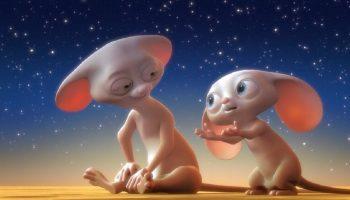 Умилительная история о мышках и луне