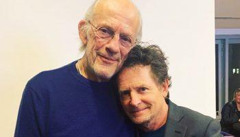 Док и Марти, исполнители главных ролей в культовой трилогии «Назад в будущее», встретились на турнире по покеру. Спустя 35 лет после выхода первого фильма!
