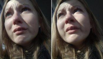 Девушка, потерявшая собаку, встретила ее через три года спустя