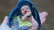 Милые куколки из запекаемого пластика художницы Елены Кириленко