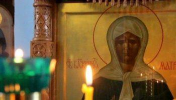 Святая Матрона Московская: «Я буду вас видеть, и слышать, и помогать вам»