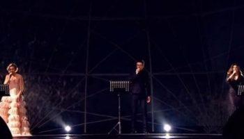 Памяти Хворостовского «Toi et moi» в гениальном исполнении Билана, Гагариной и Ани Лорак