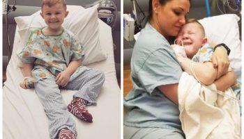 История про то, как медсестра утешила плачущего от боли ребёнка обошла весь Интернет