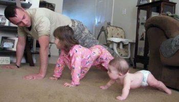 Папочки, которые обожают проводить время с детьми!