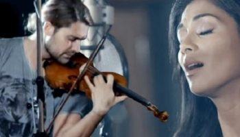 Бесподобный дуэт Дэвида Гарретта и Николь Шерзингер. Саундтрек к фильму «Паганини: Скрипач Дьявола»
