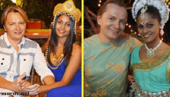 Несмотря на угрозы родственников, парень из России сумел повести под венец девушку из Индии
