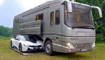 Уникальное транспортное средство — Самый роскошный дом на колесах