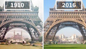 17 удивительных фото мира позапрошлых веков в сравнении с миром сегодняшним