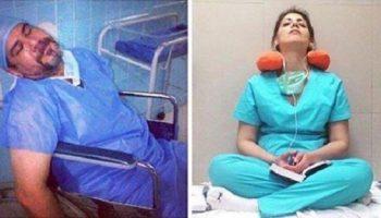 Флешмоб от медицинских работников: «Мы прежде всего живые люди, а не машины!»