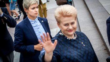 Телохранитель президента Литвы — настоящая красотка