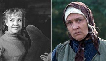 Эти замечательные актрисы советского кино, сыграли свои роли совсем не по своему возрасту