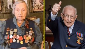 На помощь врачам, 98-летняя бабушка собрала более 3 млн рублей