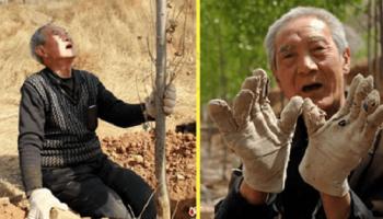 Безногий 70-летний ветеран, за 19 лет смогпосадить 17 тыс деревьев